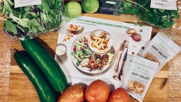 A big HELLO to Hello Fresh